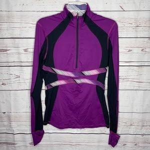 Lululemon Run: Hills Half Zip Pullover in Sz 8!